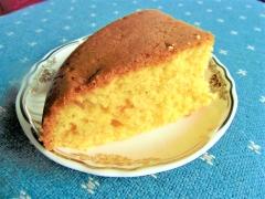 炊飯器でメロンケーキのようななにか