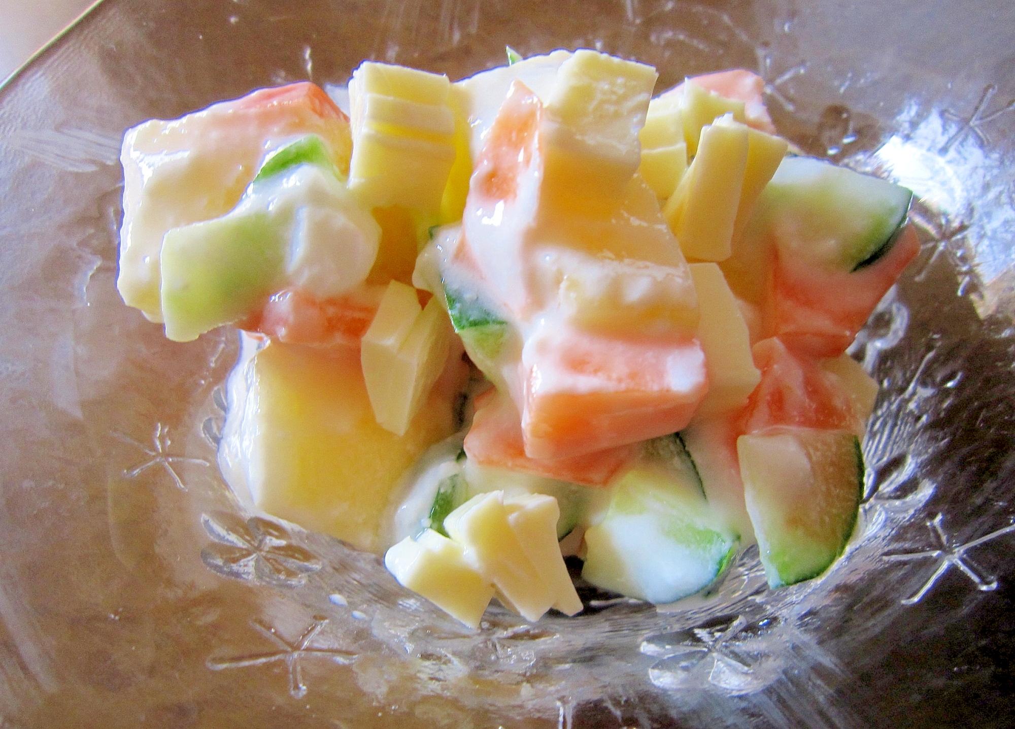 ヘルシーヨーグルトサラダ
