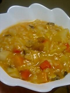 野菜&チーズinリゾット