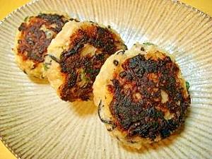 ひじきと筍の肉団子焼き