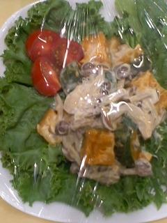 ささみといろいろ野菜のサラダ