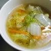野菜の甘さを実感!白菜とにんじんのとろみ中華スープの参考画像