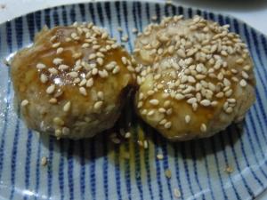 ヘルシー★大豆ハンバーグの照り焼き