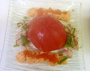 トマトで包んだ魚介のファルシ