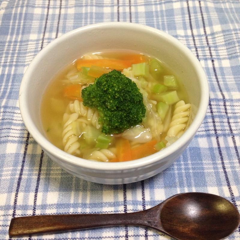 4.キャベツとブロッコリーのスープ