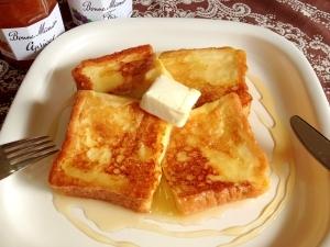 簡単時短裏技!バゲットでフレンチトースト♪絶品朝食