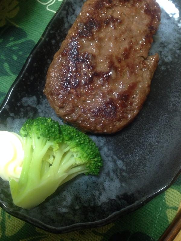 牛肉たっぷりハンバーグ(*^^*)☆