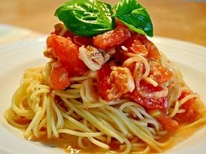 トマトとツナの冷製パスタ レシピ・作り方 by asami0418 楽天レシピ