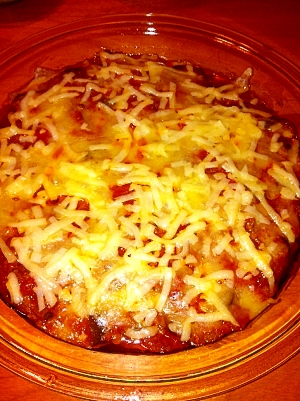 茄子ミートオーブン焼き