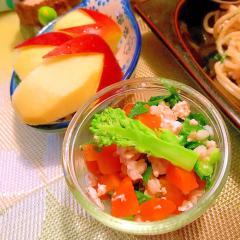 チーマディラーパと鶏ささ身と人参のぷちころサラダ