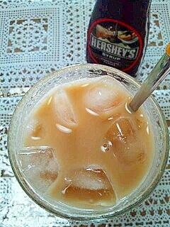 HERSHEY'Sで☆おからチョコミルクティー♪