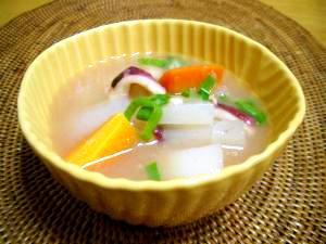 フィリピンの手軽な酸っぱいスープ☆シニガン