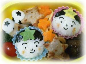 【キャラ弁】七夕のお弁当