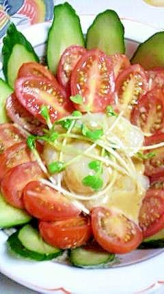帆立と野菜のおつまみサラダ