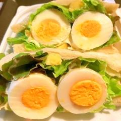ゆで卵のヨーグルトカレーマヨサンド