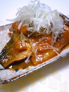 ネギたっぷり☆さばの味噌煮