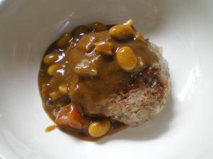カレーハンバーグ