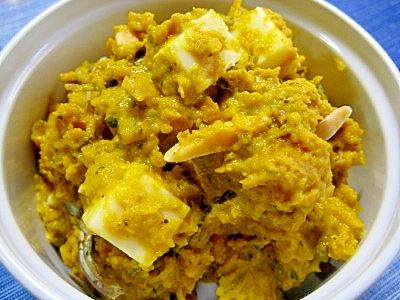小魚ナッツdeかぼちゃのハニーチーズ