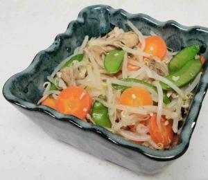 マヨ塩麹で野菜炒め