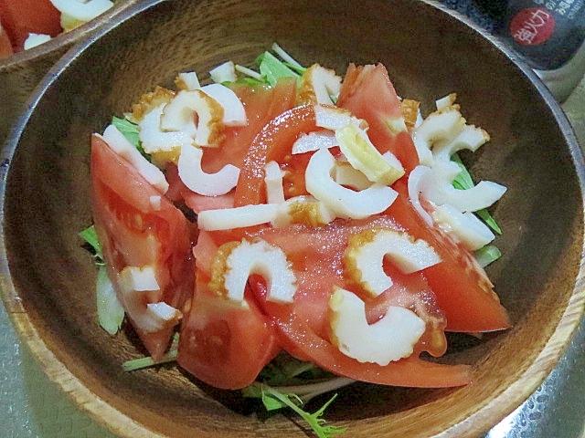 トマトちくわのサラダ