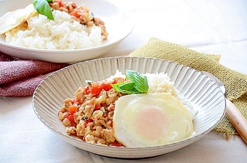 ガパオライスの基本レシピ
