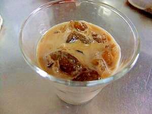 手作り簡単☆おもてなしにも^^氷カフェ(コーヒー)