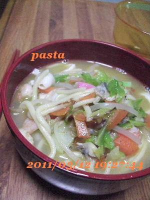 スープが美味しい♪自分で作るちゃんぽん★麺料理