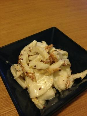 【簡単副菜】カブ&ちくわのマヨサラダ