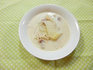 白菜の塩とんこつミルクスープ