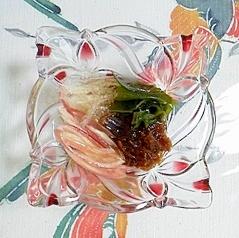 茗荷と海藻のスダチ和え