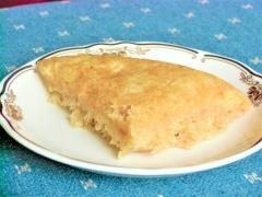炊飯器でリンゴケーキ、おかゆ編