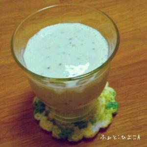 キウイのおやつの素☆de☆豆乳シェイク
