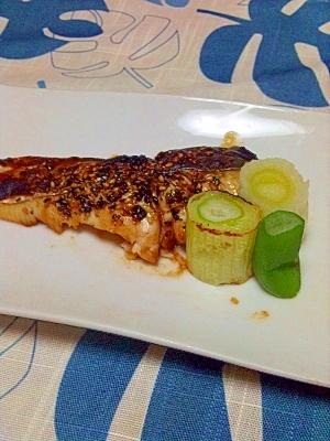 ゴマドレ焼き魚