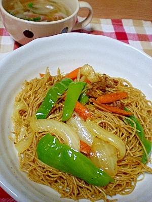 B級ぐるめ★カレー味ビーフン