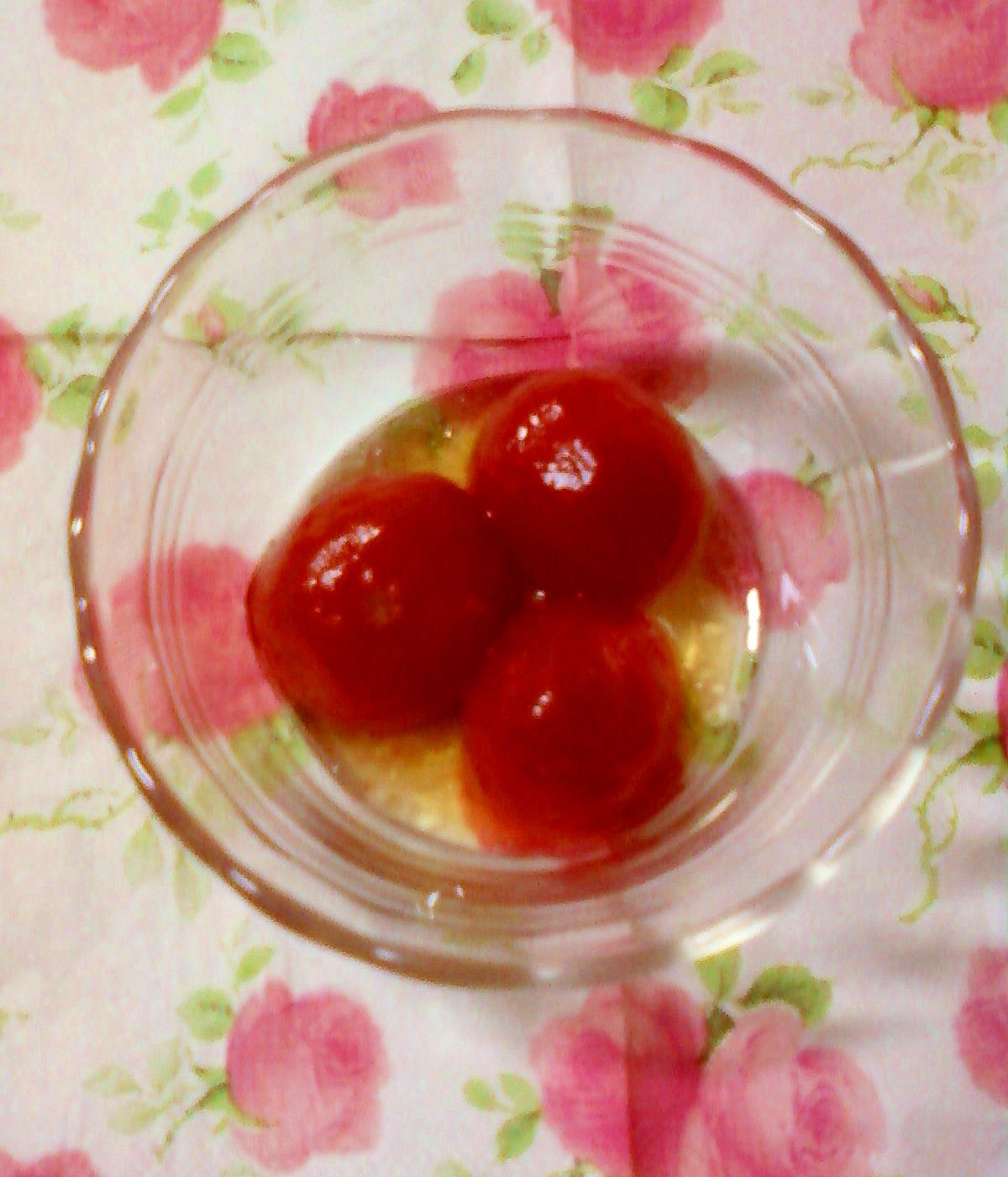 ☆*:・手軽に出来る☆ミニトマトのマリネ☆*:・☆