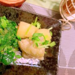 中華風しびから粉吹き芋