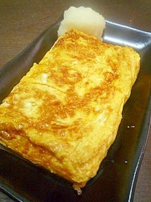 白だしで簡単厚焼き卵 レシピ・作り方 by ほぉみぃ? 楽天レシピ