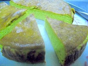 ラム酒の効いたかぼちゃのチーズケーキ