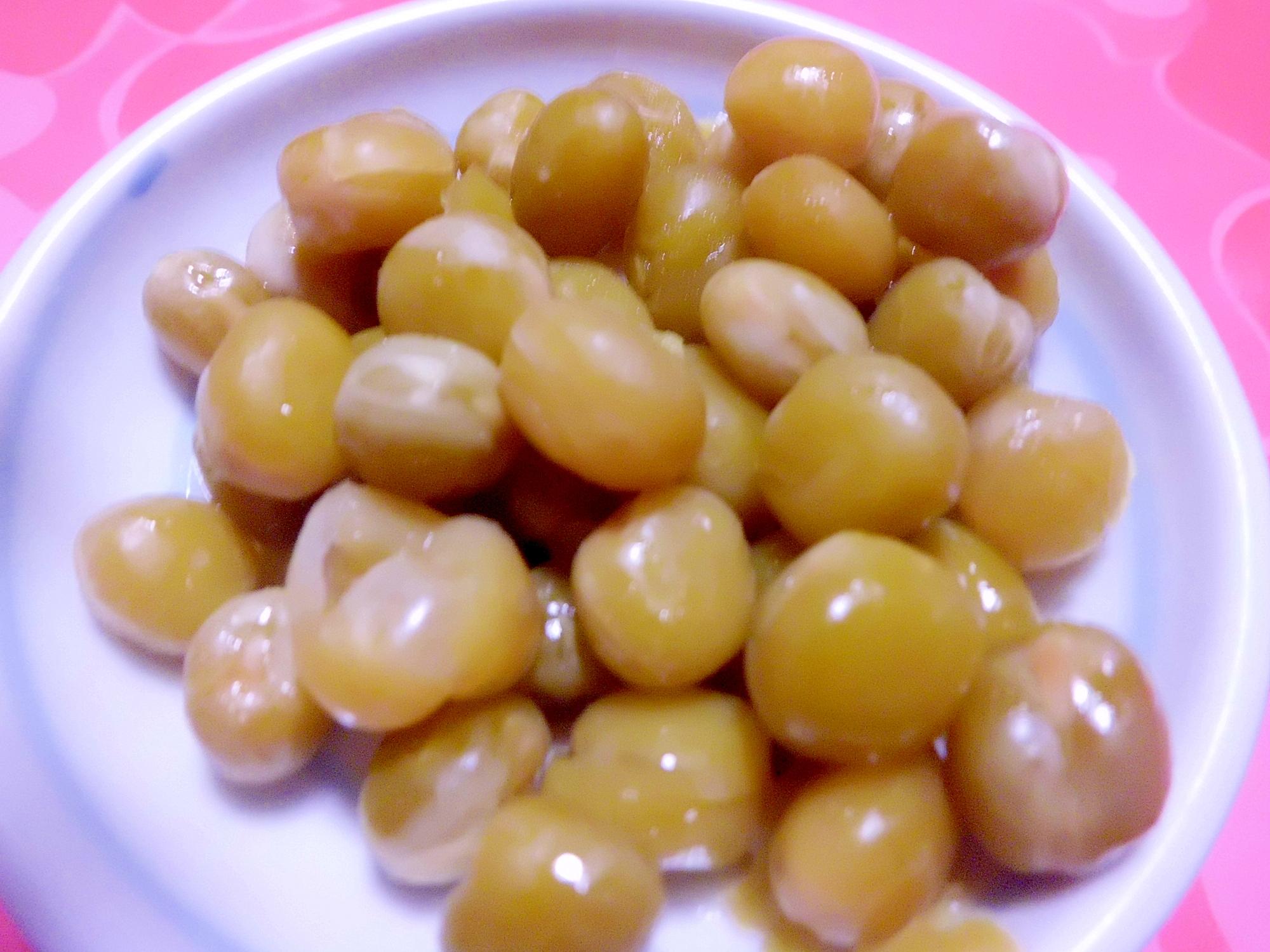 えんどう豆の煮豆