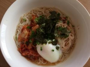 レンジで簡単温泉卵とポカポカにゅうめん レシピ 作り方 By 音生活 楽天レシピ