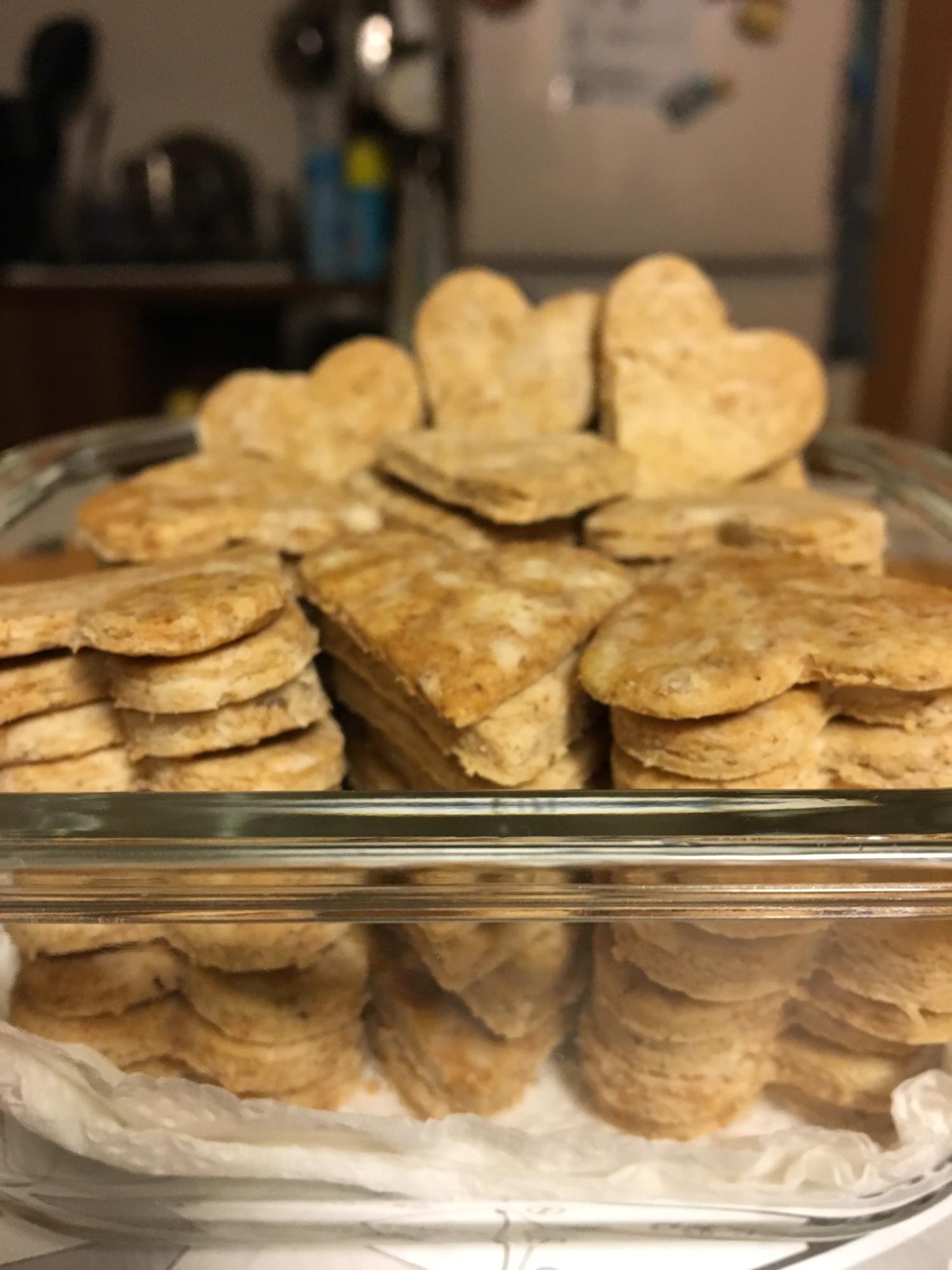 3. 甘さ控えめ「全粒粉のサクサククッキー」