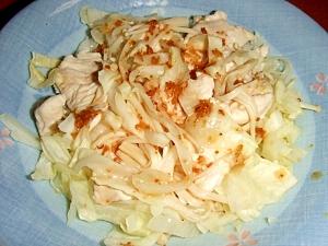 鶏ムネ肉と野菜のレンジ蒸し