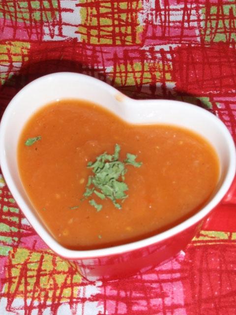 炊飯器de冷製トマトスープ