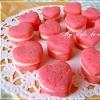 バレンタイン いちごクッキーのホワイトチョコサンドの参考画像