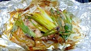 マグロ中落ち味噌ホイル焼き