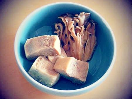 冷凍豆腐で作るあっさり豆腐煮!