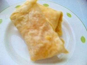 豆腐クリームクレープ