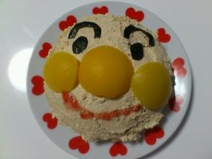 1歳誕生日に☆アンパンマンケーキ レシピ・作り方 by ☆ピーチェ☆|楽天レシピ
