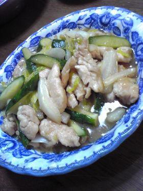ささみと白菜のとろみ煮