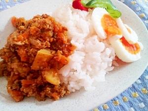 辛ウマ★塩麹入りキーマカレー